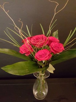 Arrangements: Special Red Rose Vase