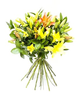 Bouquets: Mixed Lily Bunch
